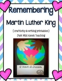 Remembering Martin Luther King { Craftivity Packet }
