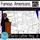 Martin Luther King, Jr.- 19 PAGES of Fun Activities