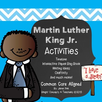 Martin Luther King Jr. Activities, Craft & Paper Bag Book