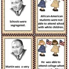 Cause and Effect Cards: Martin Luther King, Jr.