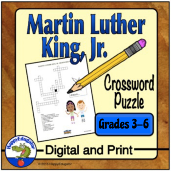 Martin Luther King Jr. Crossword Puzzle