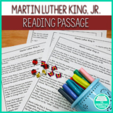 Martin Luther King, Jr. Day: Reading Passage and 2 Worksheets