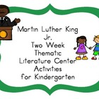 Martin Luther King Jr Kindergarten Literacy Centers
