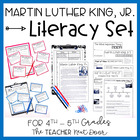 Martin Luther King, Jr. Literacy Set: Common Core 4th and