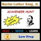 Martin Luther King, Jr. Scavenger Hunt