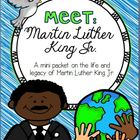 Martin Luther King Jr. (mini-packet of activities and crafts)