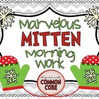Marvelous Mitten Morning Work