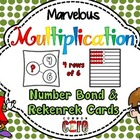 Marvelous Multiplication Number Bond and Rekenrek Cards