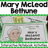 Mary McLeod Bethune Interactive Notebook Activities  (Hist