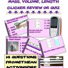 Mass, Length, & Volume Clicker Review - Promethean Flipchart