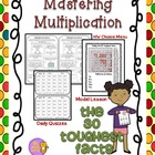 Mastering Multiplication: The 30 Toughest Facts w/choice menu