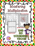 Multiplication: Mastering the 30 Toughest Facts w/choice menu
