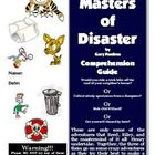 Masters of Disaster by Gary Paulsen Reading Activities Sup