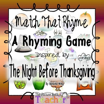 That Rhyme inspired by The Night Before Thanksgiving by Natasha Wing