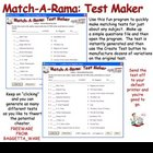Match-A-Rama Make Quick Matching Tests