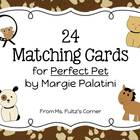 Matching Cards for Perfect Pet