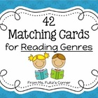 Matching Cards for Reading Genres