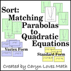 Matching Graphs of Parabola with Quadratic Equations  Revi