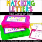Matching Letters Scoot Game