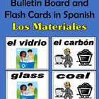 Materials (Los materiales) Bulletin Board and Flash Cards