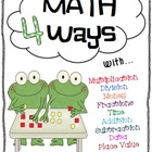 Math 4 Ways Bundle