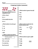 Math: Assessment & Guide Comparing Numbers 0 through 9,999