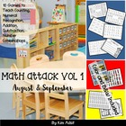 Math Attack! Learning the Facts - Aligned with the Common Core