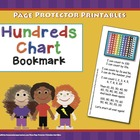 Math Bookmark: Hundreds Chart