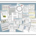 Math Bundle Grade 2- Interactive Notebook Printables and P