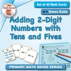 Multi-Match Cards: Adding 2-Digit Numbers with Tens and Fives