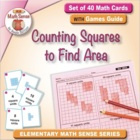 Multi-Match Cards: Counting Squares to Find Area