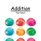 Addition Fast Nines Center Game