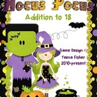 Halloween Addition 1-18 Roll, Say, Keep Board Game Task Cards