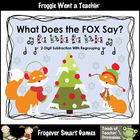 Math Center--What Does the Fox Say? (2-Digit Subtraction W