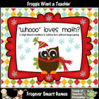 "Math Center--""Whooo"" Loves Math? (2-Digit Mixed Addition/S"