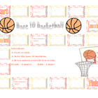 Math Centers: Base 10 Basketball Addition and Subtraction Station