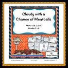 Math Center: Cloudy with a Chance of Meatballs
