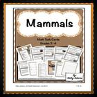 Math Center: Mammals