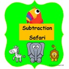 Math Centers - Subtraction Safari - Beginning Math