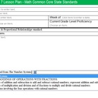 Common Core Lesson Plan Math Grade 7 w/Standards in Drop D
