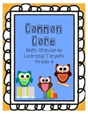Math Curriculum Posters with Student Examples & Pictures,