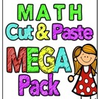 Math Cut & Paste MEGA Pack