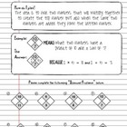 Factoring Trinomials using Math Diamond Problems - Workshe