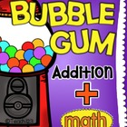 Math Facts: Addition-Bubble Gum Program-Editable