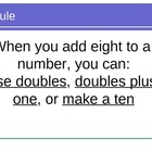 Math Facts Power Point for the Eight Rule for math fluency