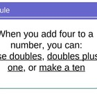 Math Facts Power Point for the Four Rule for math fluency