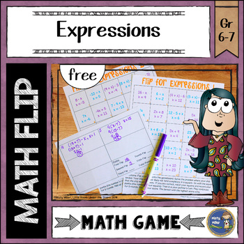 Math Flips: Flip for Expressions