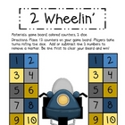 Math Game Board - 2 Wheelin'