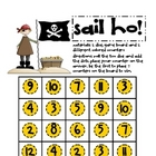 Math Game Board - Sail ho!