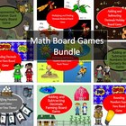 Math Game Board Super Bundle With Fun Themes